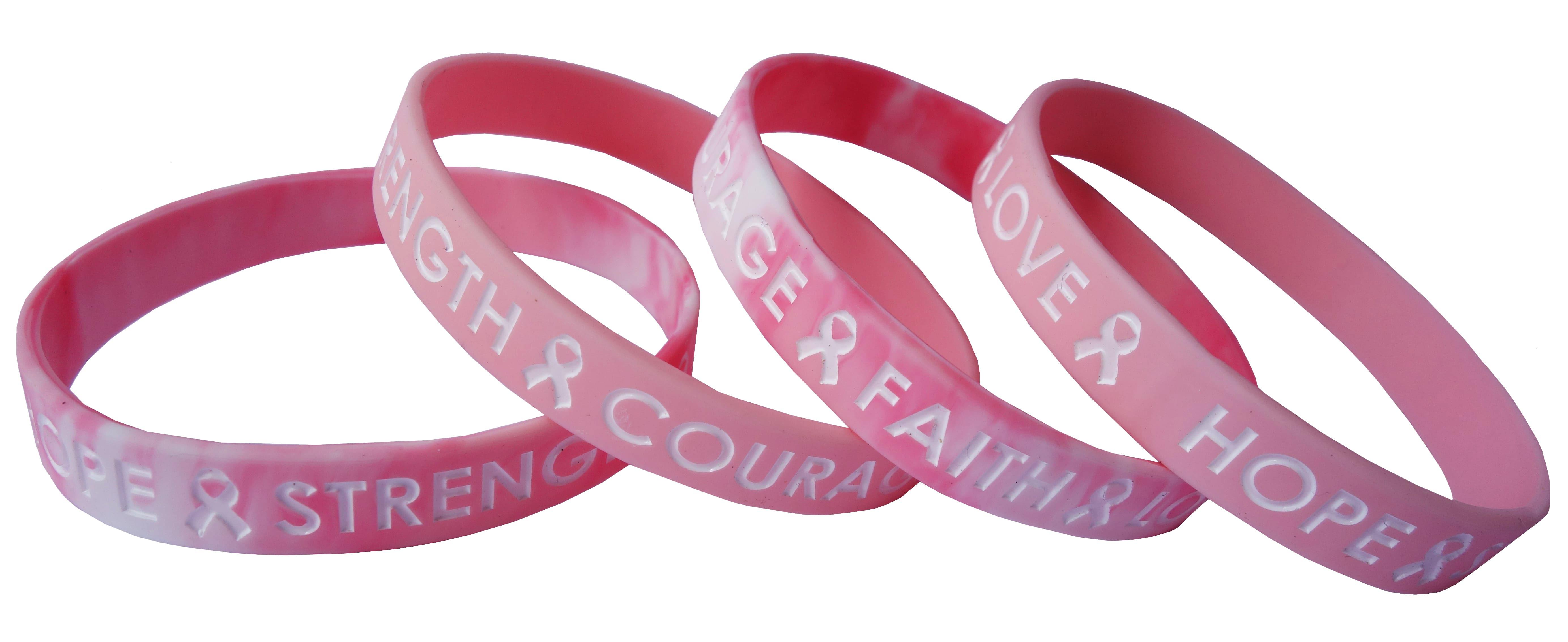 breast cancer awareness wristband 6