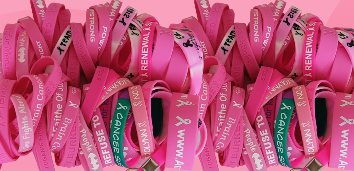 breast cancer awareness wristband 7