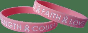 breast cancer awareness wristband 2