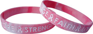 breast cancer awareness wristband