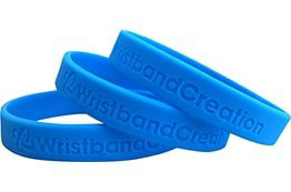 Order Debossed Wristbands   Wristband Creation